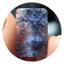 Natural rare beautiful Blue Dumortierite Crystal polished 20011809