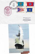 USS Cape St George CG 71 CRUISER un Navi inseriti nella cache COPRI E SM MAG PIC