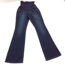 Indigo Blue Maternity F3 Womens Jeans Pant Cotton Blend Secret Fit Belly Size S