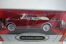 1:18 Road Signature - 1953 Packard Caribbean Red Cabriolet Rarity New Original