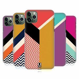 HEAD CASE DESIGNS COLOUR BLOCK CHEVRON CASE & WALLPAPER FOR APPLE iPHONE PHONES