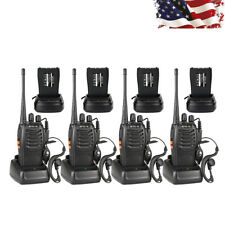 4* Retevis H777 2Way Radio Walkie Talkie 5W 16CH UHF400-470MHz+Earpiece US Stock