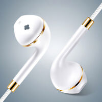3.5mm With Mic Super Bass Music In-ear Stereo Headphone Headset Earphone 4 Color
