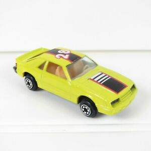 FORD MUSTANG FOX BODY - VINTAGE YAT MING 1:64 DIE-CAST - 1028 - NEW