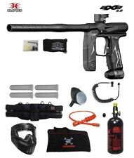 Maddog Empire Axe 2.0 Specialist Hpa Paintball Gun Package Dust Black