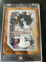 Luis Robert 2020 Topps Gallery 21/25 Orange Master Apprentice Chicago White Sox