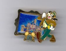 Disney 50th Happiest Homecoming Castle Goofy Fedora Hat Adventuerland Pin & Card
