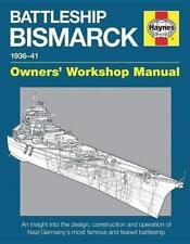 Battleship Bismarck Manual von Angus Konstam (2015, Gebundene Ausgabe)