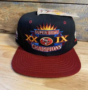Vintage 1995 San Francisco 49ers Super Bowl XXIX New Era Cap Hat NWT snapback
