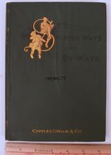 1883 Spanish ways and by-ways, glimpse of Pyrenees by William Howe Downes SPAIN