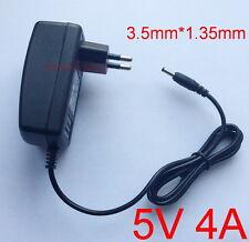 AC supply DC 5V 4A Switching Power Adapter 20W EU plug DC 3.5mm x 1.35mm 4000mA