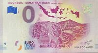 BILLET 0  EURO INDONESIA SUMATRAN TIGER  2019   NUMERO 4400