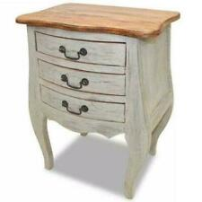 Vintage Bedside Cabinet French Antique Style Mid Century Lamp Chest Nightstand