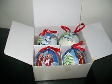 Tupperware Nutcracker Polar Bear Christmas Ornaments Rare New in Box