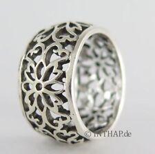 Markenlose Ringe ohne Steine aus echtem Edelmetall 17,5 mm Ø) (55