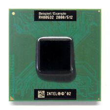 Intel mobile pentium 4-m sl6v9 CPU zócalo 2.0ghz/512kb/400/socket 478 (mPGA 478b)