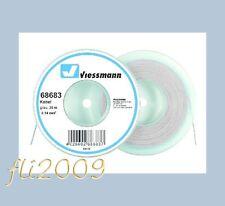 * Viessmann 68683 cavo filo collegamenti elettrici 0,14 mmq 25 mt grigio