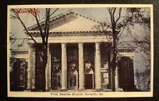 FIRST BAPTIST CHURCH, FORSYTH, GEORGIA, Photograph