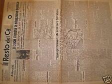 IL RESTO DEL CARLINO 4-8-1942 MUSSOLINI CRONACA ULT. ED
