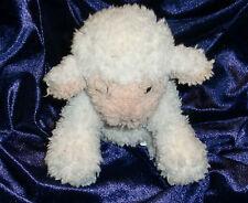 TARGET STUFFED PLUSH BABY LAMB BEAN* LOVEY SMALL TINY LITTLE CREAM WHITE BEIGE