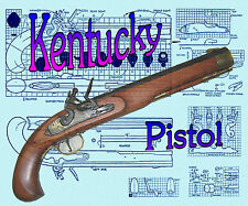 How to Make a wooded F/S scale of Kentucky Pistol F/S Pinted PLAN & Build Note