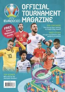 *NEW* UEFA EURO 2020 - OFFICIAL TOURNAMENT MAGAZINE - INCLUDES WALL CHART