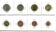 Luxembourg Série Euro UNC NEUVES 8 pièces 2€ à 1 centime 2012