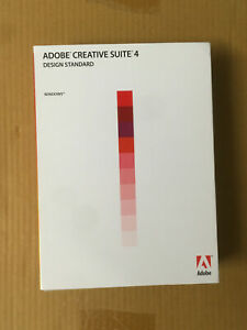 ADOBE Photoshop CS4 + Indesign + Illustrator + Windows VOLL englisch english BOX