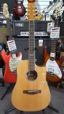 Martinez Buskers Acoustic-Electric Babe Travel Guitar with Drum Machine