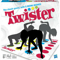 Hasbro Twister Game 2 to 4 Players Complete Game Set