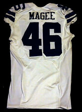 #46 Brandon Magee Authentic Game Issued Dallas Cowboys Nike Jersey - 2012 Season
