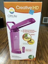 OttLite Creative HD Natural Daylight Lamp - Fuchsia pink. BRAND NEW IN BOX