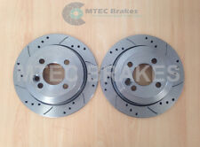 BMW Mini R58 R59 Coupe & Roadster All NOT JCW Drilled Grooved Brake Discs Rear