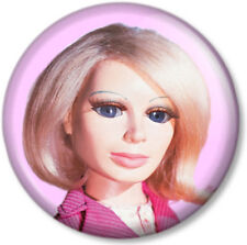 Lady Penelope Thunderbirds 25mm Pin Button Badge Tracy Island Puppet Character