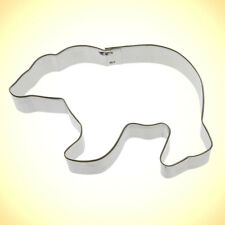 Polar Bear Cookie Cutter 4 in B1357 - Foose Cookie Cutters - US Tin Steel