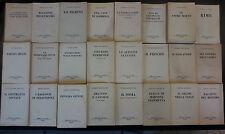 lotto 25 libri anni '50-'60 rizzoli B.U.R.