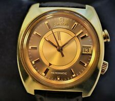 Omega Memomatic Automatic Ref 166.072 Large Gold filled case  near mint