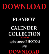 PLAYBOY CALENDAR COLLECTION PHOTO'S 1960-2000 LARGE DOWNLOAD