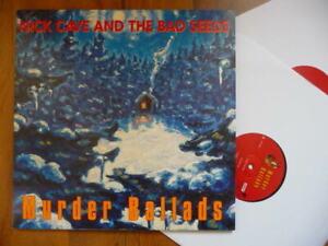 NICK CAVE MURDER BALLADS REISSUE MUTE BMG 2014 DOUBLE LP NEAR MINT COMME NEUVE