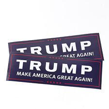 10pcs Donald Trump Blue Campaign Bumper Stickers Make America Great Again! 2016