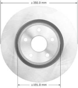 Silent Stop SB780870 Disc Brake Rotor-Limited Front