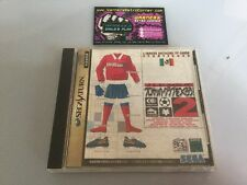 J League Soccer  2 Sega Saturn JP Japan Boxed W/ Manual Good Cond