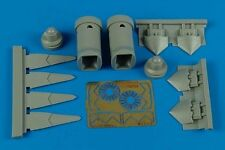 Aires 7268 1/72 F22A Raptor Exhaust Nozzles For Fujimi