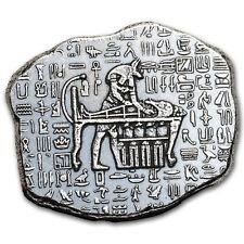 1 oz Silver Relic Bar - Monarch Precious Metals (Anubis)