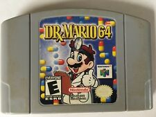 Dr. Mario N64 Nintendo 64 Cart only Cleaned Tested working