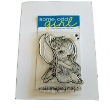 Some Odd Girl Fairy Magic Make Everything Magic Clear Stamp Cardmaking