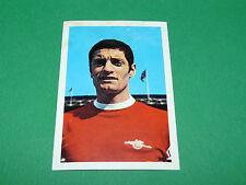 7 F. McLINTOCK ARSENAL GUNNERS FKS AGEDUCATIFS PANINI FOOTBALL ENGLAND 1968-1969