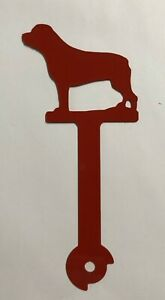 Rottweiler Metal Mailbox Flag Dog CNC Aluminum Art