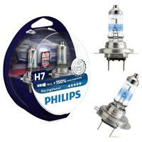 Philips RacingVision H7 bis zu 150% mehr Halogenlampe 12972RV+S2 Duo 2 Stk/