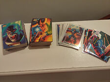 1994 Marvel Masterpieces Complete Base Set with Silver Holofoil and Powerblast